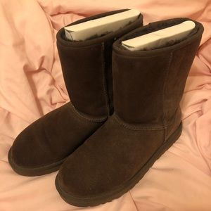 UGG classic boots dark brown